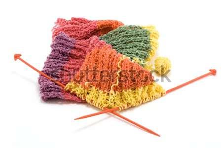Knitted scarf 4 Stock photo © RuslanOmega