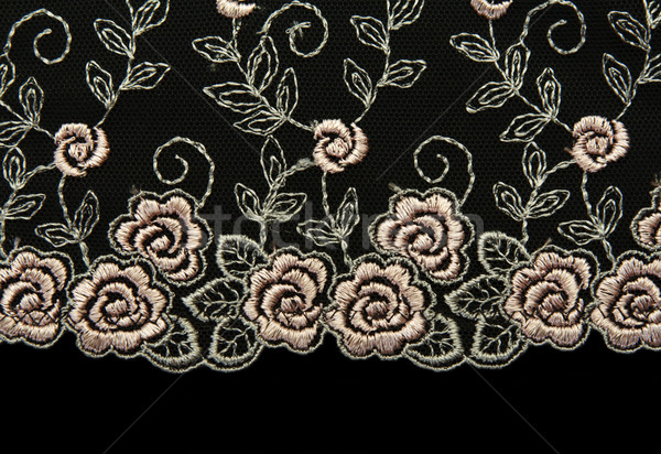 Rose lace with pattern in the manner of flower Stock photo © RuslanOmega