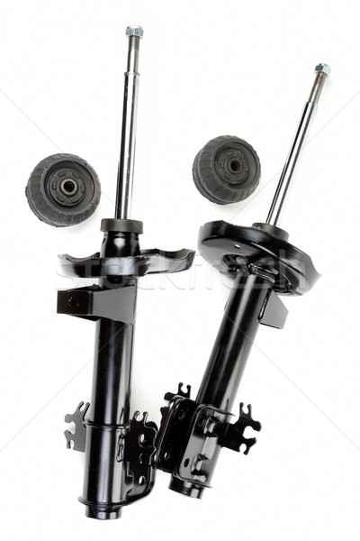 Set of two shock absorber and pivot bearings Stock photo © RuslanOmega