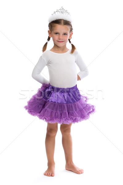 Little girl ballerina in the corona. Stock photo © RuslanOmega