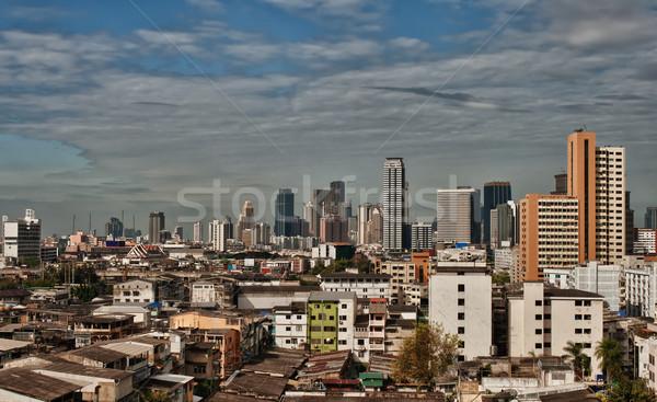Ver diariamente Bangkok urbano paisagem céu Foto stock © RuslanOmega