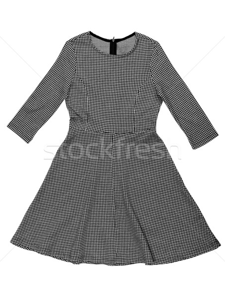 checkered black and white dress Stock photo © RuslanOmega