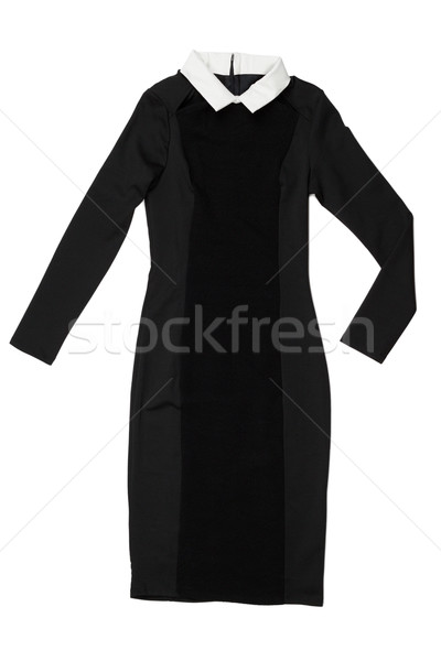 black dress with white collar Stock photo © RuslanOmega