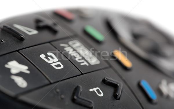 3D controlar remoto tv Foto stock © RuslanOmega