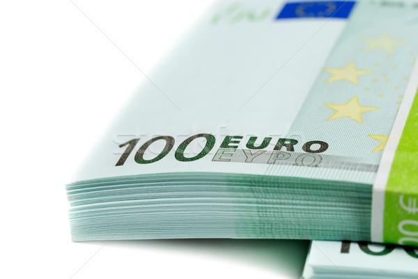 stack of banknotes 100 euros Stock photo © RuslanOmega