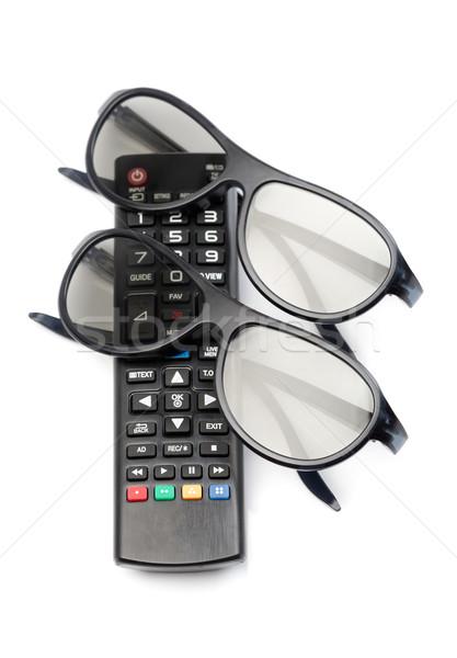 control of 3d TV glasses Stock photo © RuslanOmega