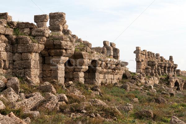Ancient ruins Stock photo © RuslanOmega