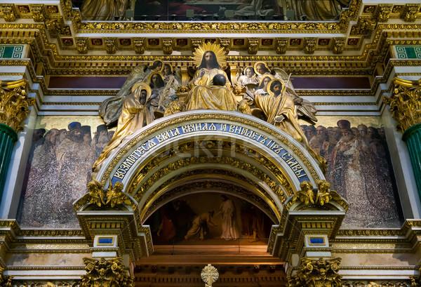 interior of the ancient Orthodox Church Stock photo © RuslanOmega