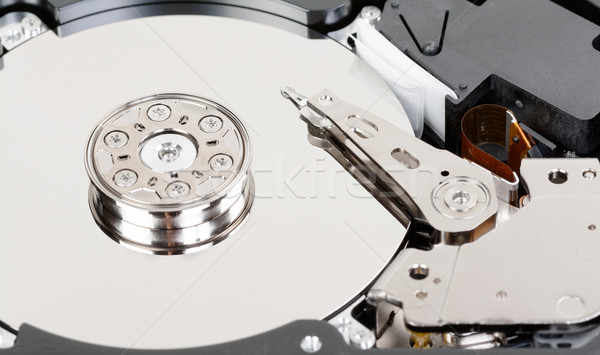 close up of hard disk Stock photo © RuslanOmega