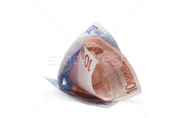 Bills euro rolled 4 Stock photo © RuslanOmega