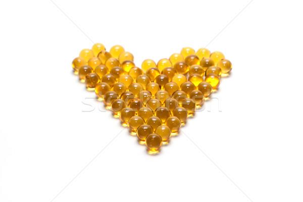 Disposit of the capsules cod-liver oil 2 Stock photo © RuslanOmega