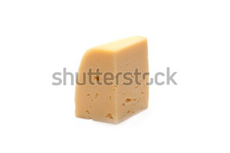 Piece of the cheese Stock photo © RuslanOmega