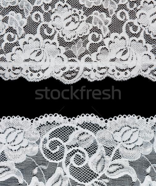 Decoratief zwarte foto verscheidene bloem Stockfoto © RuslanOmega