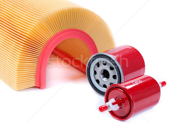 set of filters for car Stock photo © RuslanOmega