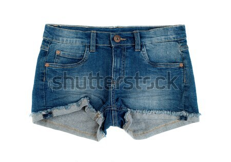 Blue jean shorts Stock photo © RuslanOmega