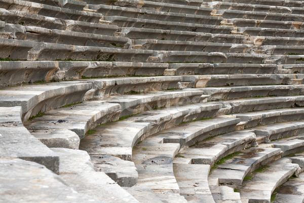 The ancient amphitheater Stock photo © RuslanOmega