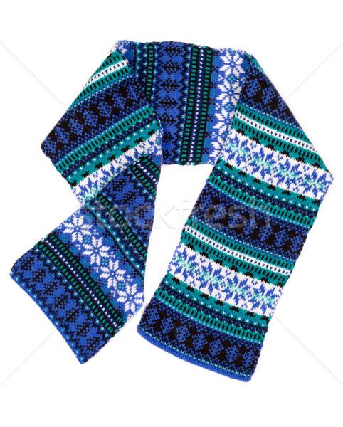 warm scarf with Scandinavian design Stock photo © RuslanOmega