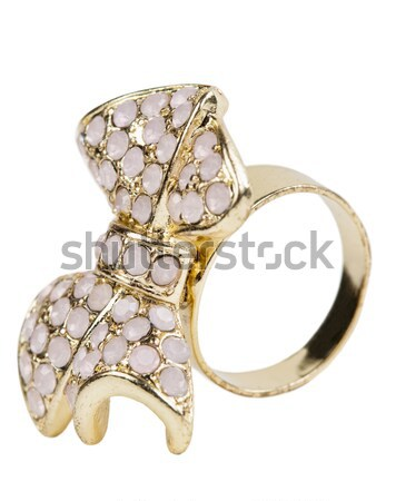 Brooch in the shape of a bow Stock photo © RuslanOmega