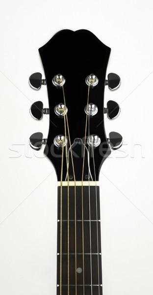 Guitar Headstock Stock photo © russwitherington