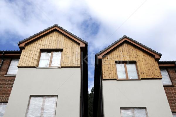 Maison deux bâtiment Photo stock © russwitherington