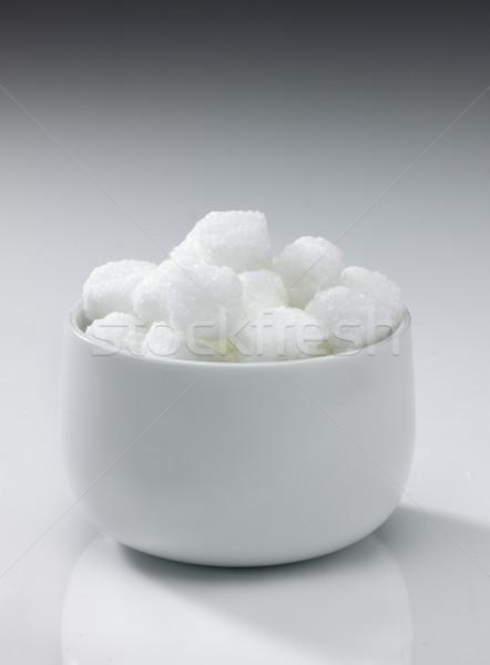 Bol Rock sucre blanche neutre Photo stock © russwitherington