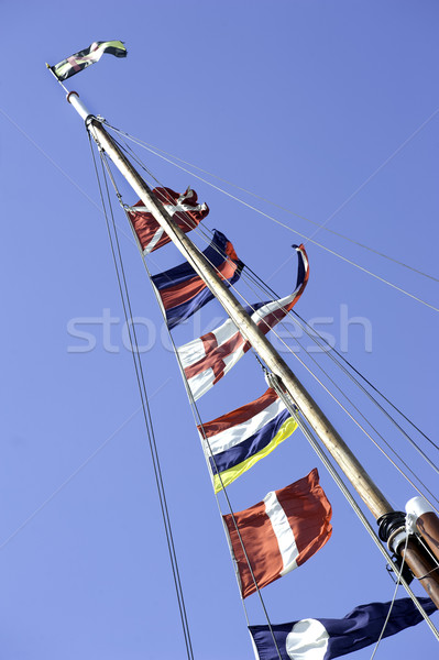 Ships Flags Stock photo © russwitherington