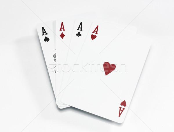 Four Aces Stock photo © russwitherington