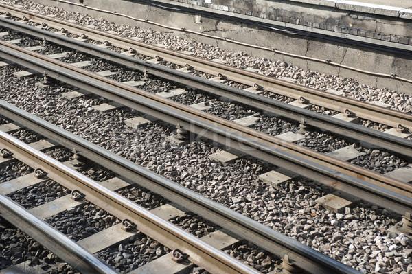 Rail Track Stock photo © russwitherington
