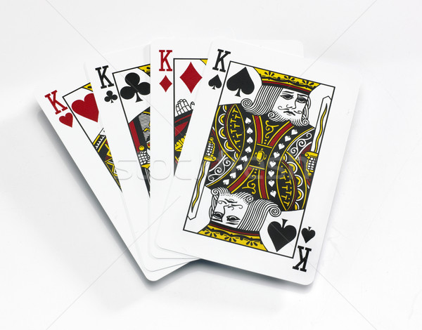 Stock photo: Four Kings