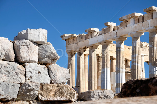 Partenon Atenas Grécia Acrópole pedra arquitetura Foto stock © russwitherington