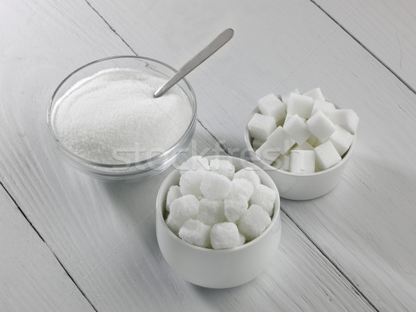 Three types of sugar Stock photo © russwitherington