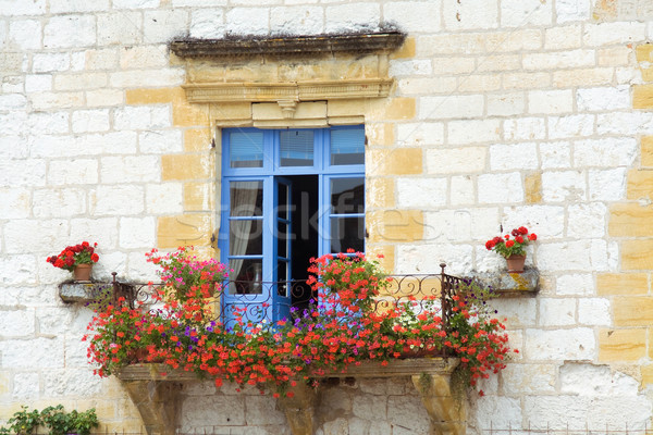 Beautiful Mediterranean window Stock photo © RuthBlack