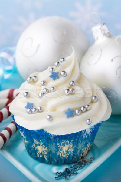 Christmas cupcake Stock photo © RuthBlack