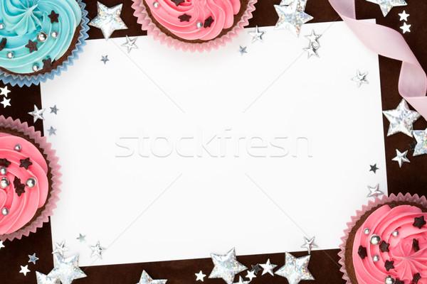 Buli űr másolat papír születésnap háttér Stock fotó © RuthBlack
