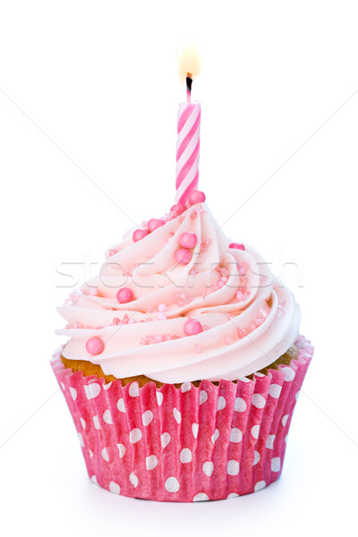 Birthday cupcake Stock photo © RuthBlack