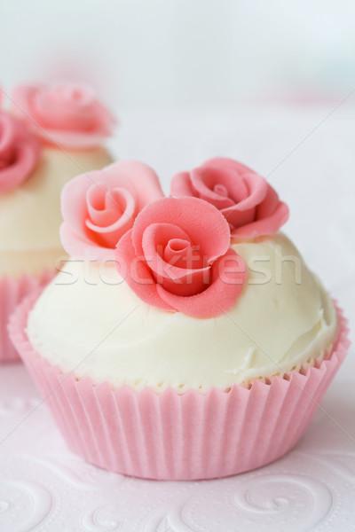 Wedding cupcake Stock photo © RuthBlack