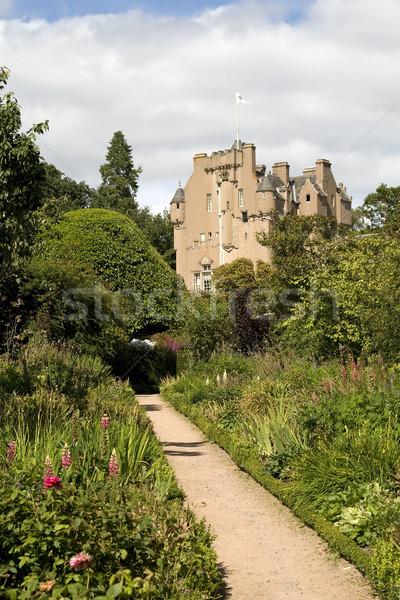 城 スコットランド 中世 庭園 建物 ストックフォト © RuthBlack