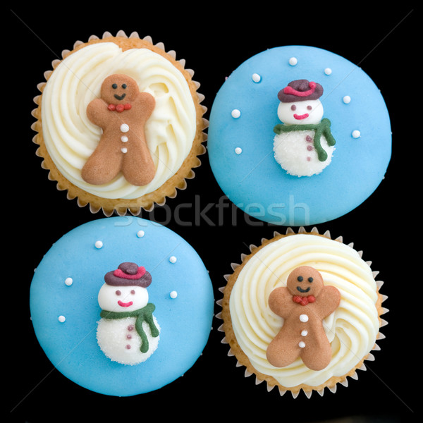 Christmas cupcakes Stock photo © RuthBlack