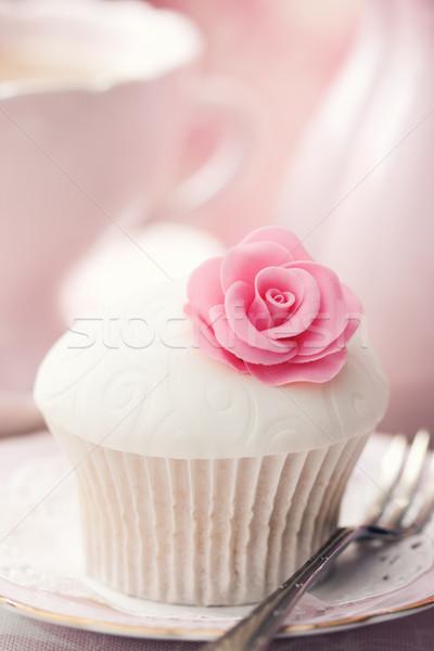 Rose cupcake Stock photo © RuthBlack