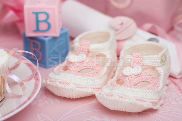 Baby booties Stock photo © RuthBlack