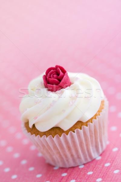 Rosebud mini decorado raio rosa Foto stock © RuthBlack