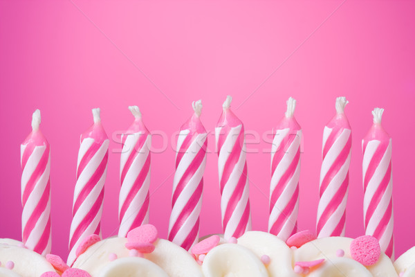 Birthday candles Stock photo © RuthBlack