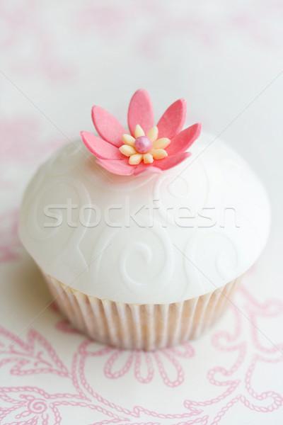 Mariage décoré rose sucre fleur Photo stock © RuthBlack