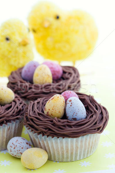 Easter cupcakes Stock photo © RuthBlack