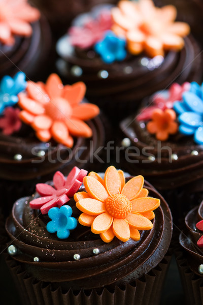 Wedding cupcakes Stock photo © RuthBlack