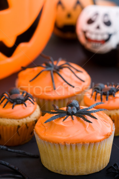 Halloween cupcakes Stock photo © RuthBlack