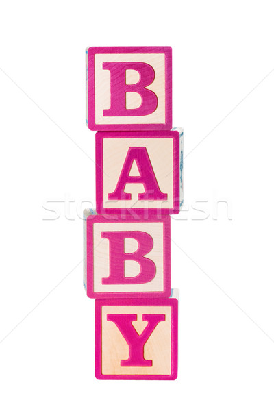Baby building blocks Stock photo © RuthBlack