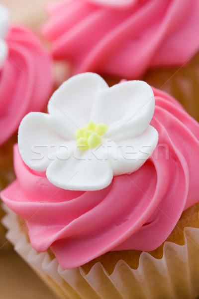 Cupcake closeup Stock photo © RuthBlack