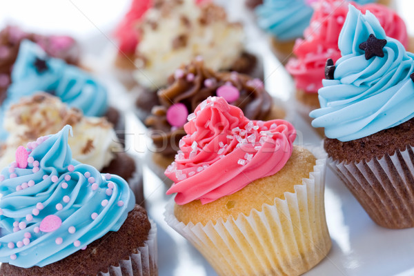 Cupcake assortment Stock photo © RuthBlack