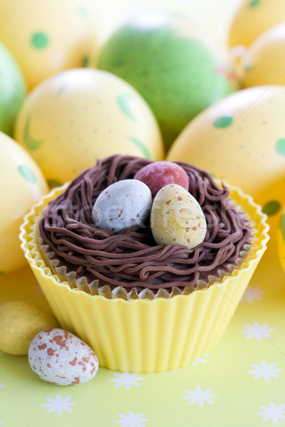 Easter cupcake Stock photo © RuthBlack